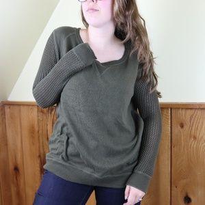 Rock & Republic Scoop Neck Sweater Size Lg